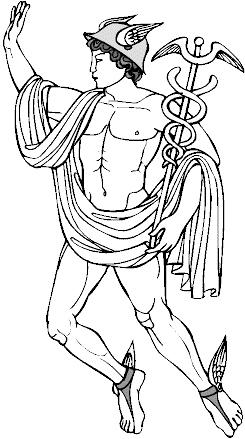 Гермес, бог путешественников, посыльных и воров