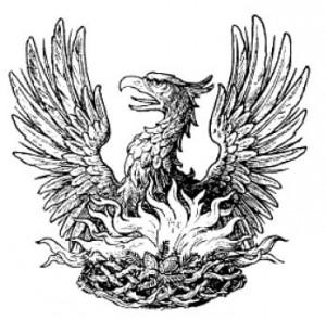 Феникс возрождающийся из пламени