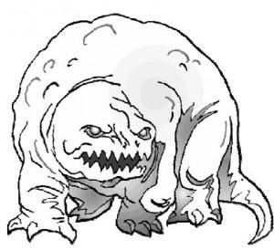 Гигантозавр. Очень злой, очень большой...