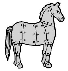 бронзовая лошадь