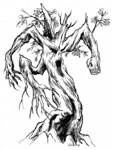 деревянный титан