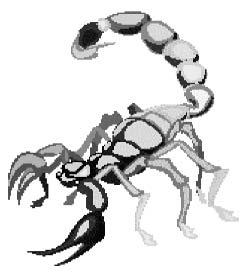 гигантский скорпион