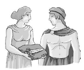 Будь крайне осторожен с этим кинжалом Афродиты