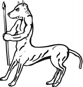 Мерзкий (вернее мерзко нарисованный) ликакентавр