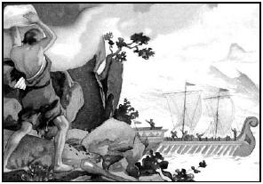 Интересно, что за чудовищные существа могут обитать на этом таинственном острове? (из коллекции последних слов искателей приключений)