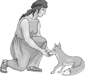 Жрица и волшебная лисица