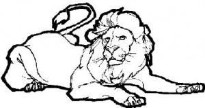 Величественный волшебный лев. Король Нарнии.