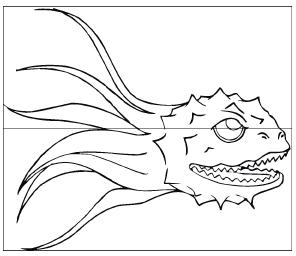 Глубоководный наблюдатель неслышно крадеться в глубинах моря.. и наблюдает!