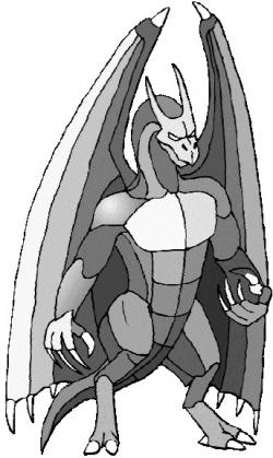 Дракодемон собирающийся задать адского жару