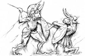 Мы просто не могли не вставить здесь эту иллюстрацию Emmanuel Roudier's из Справочника Существ