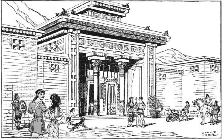 Резиденция знатного аристократа в Талосе