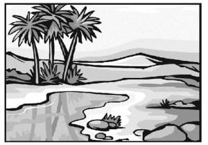 Оазис в великой пустыне