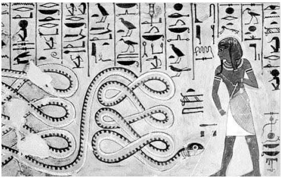 Так древние изображали Апофиса
