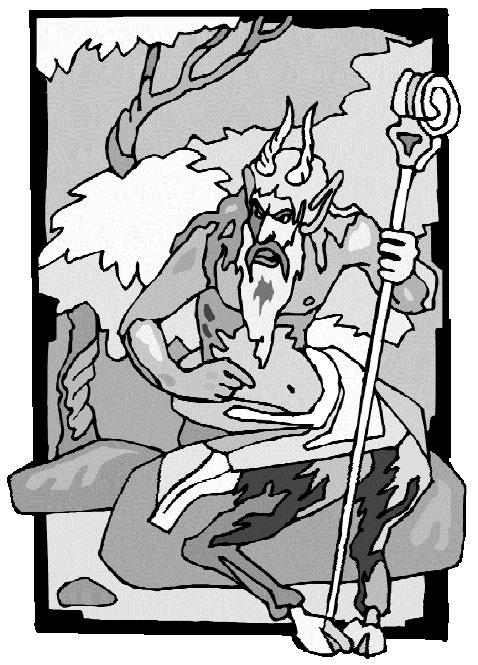 Калибан - лидер культа Черного Козла