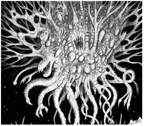Тёмная Матерь в одном из множества своих обликов