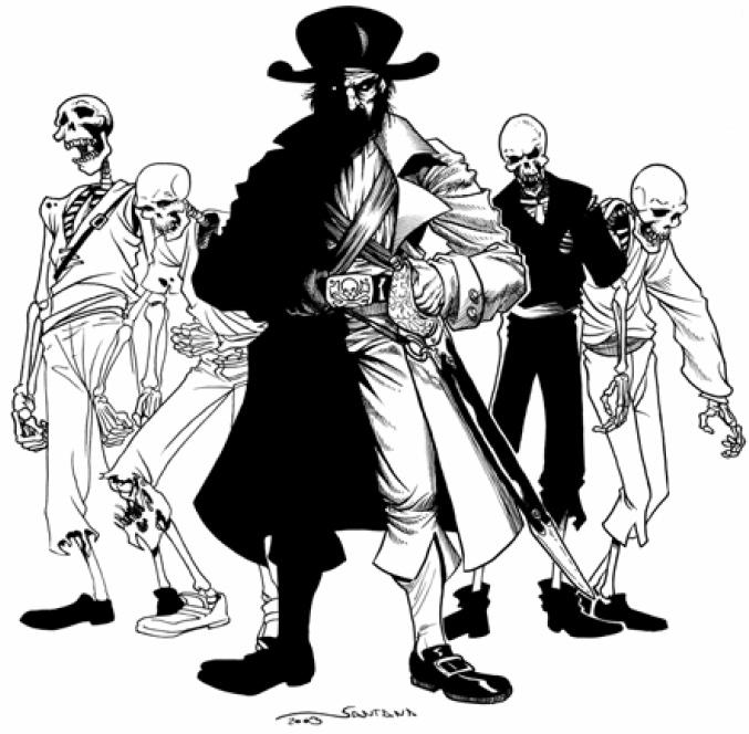 Команда корабля-призрака