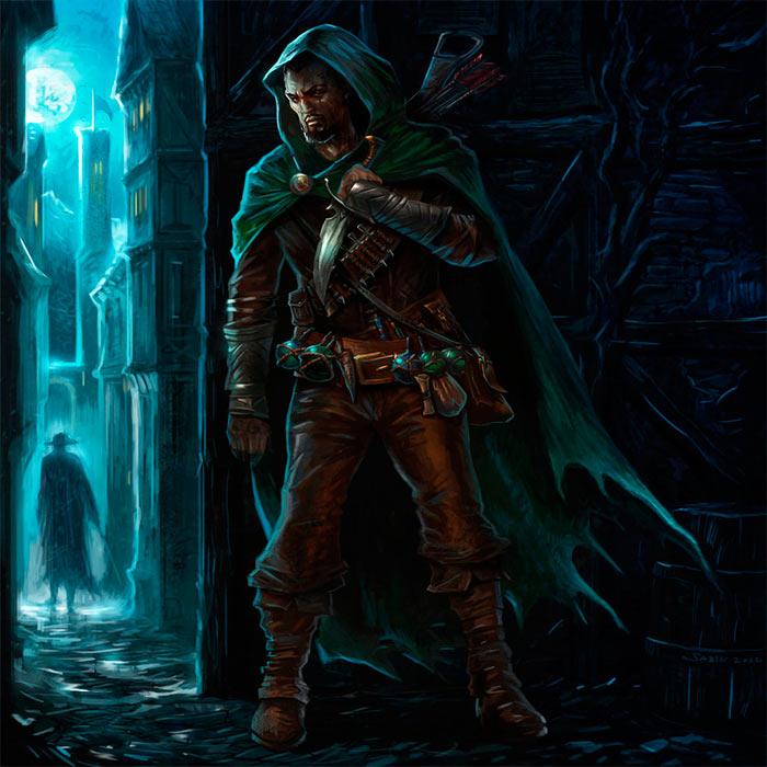 Гильдии воров в настольных ролевых играх