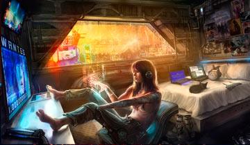 Основные типы персонажей в киберпанке