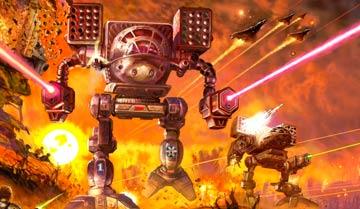 """Обзор """"сеттинга"""" вселенной """"Боевых роботов"""" - Battletech, чрезвычайно популярной в прошлом фантастической серии книг и игр."""