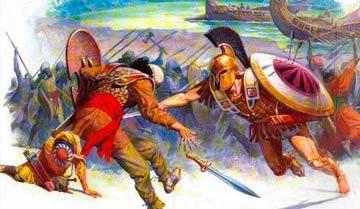 Поле боя - не бойцовский ринг, фактором успеха или поражения может быть каждая ложбинка.