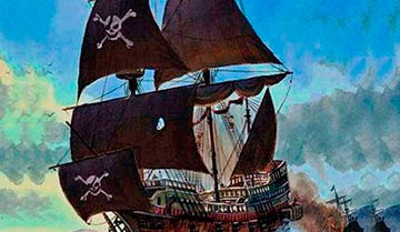 "Чем заняты пираты на судне, когда не кричат ""йо-хо-хо""?"