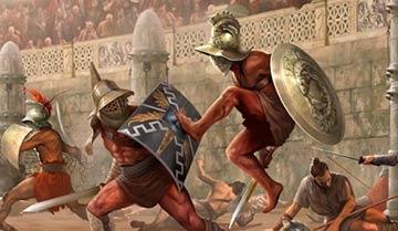 Гладиаторские бои в лабиринте
