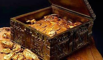 Сколько монет в сундучке