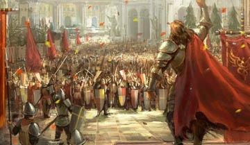 Итак, группе персонажей противостоит целая армия. Как такое могло произойти, и что им делать?