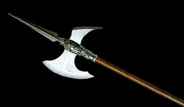 Древковое оружие — копья, алебарды и их близкие родственники