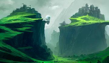 «Дикие пейзажи». Рисуем карту захолустья