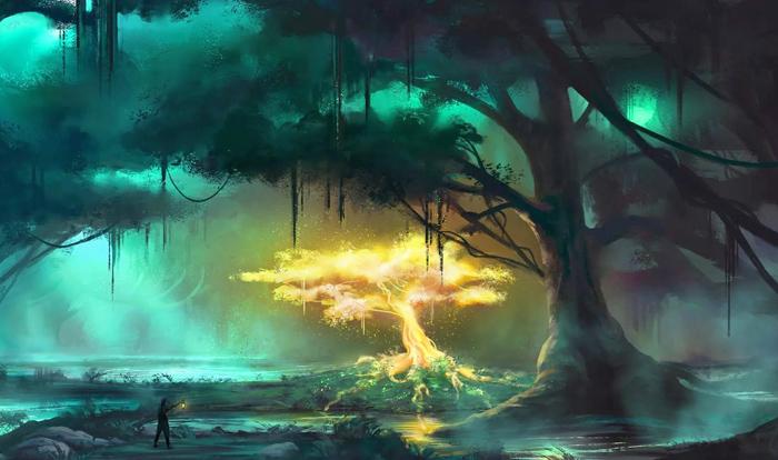 О том, как создавать запоминающиеся интересные и живые игровые сцены в лесной местности.