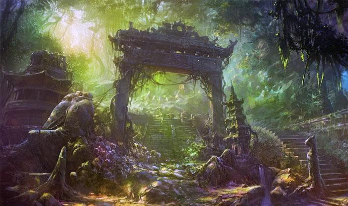 4 совета о том, как добавить таинственности и загадок древним руинам и живописным развалинам.