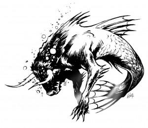 Подводный ужас : Акватавр