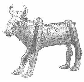 бронзовый бык
