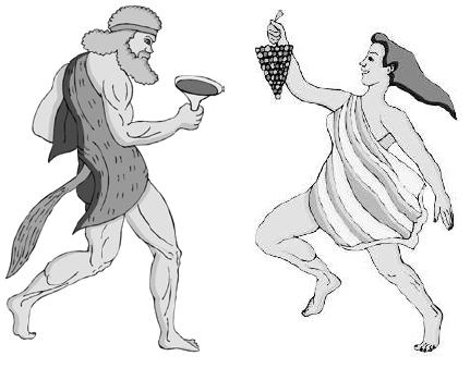 Служители культа Диониса, определенно знают толк в веселье