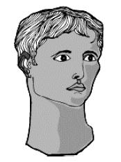 Голова Орфея, погруженная в свои мрачные размышления