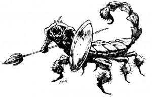 Представитель народа людей-скорпионов