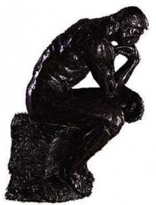 Медитирующая тень бога