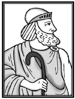 Тимотес с одной из своих тростей