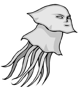 Смертельно опасная психо-медуза, плывущая по своим делам