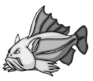 Печально известная рыба-убийца из западных морей