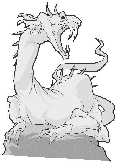 Каменный дракон умеет ждать...