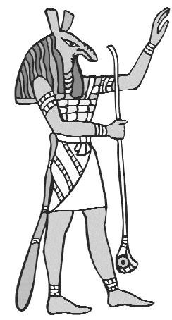 Сутех - бог ориктеров. Или замаскированный Сет?