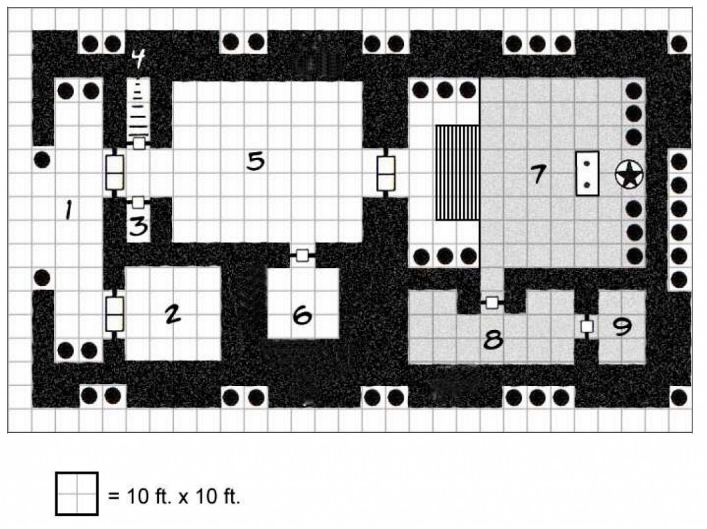 Карта храма Черного Козла