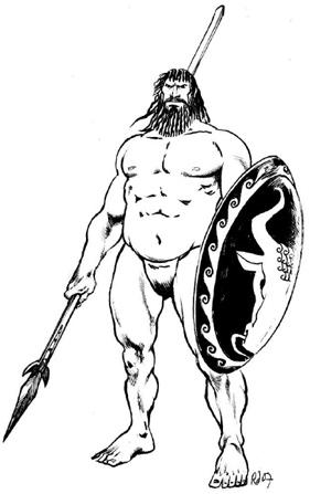 Непобедимый воин-титанианин