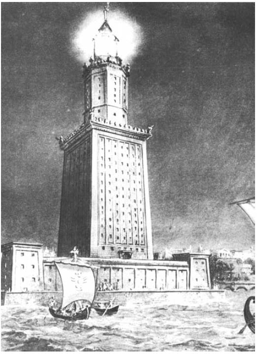 знаменитый маяк Лектиса