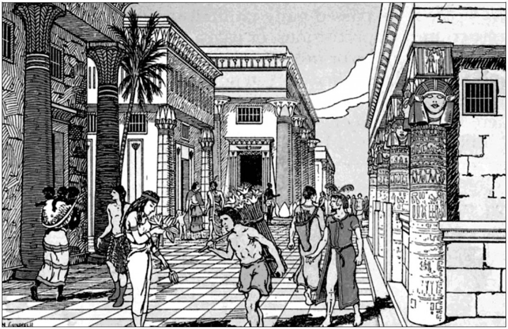 Сирены - переплетение минойской и мидийской культур