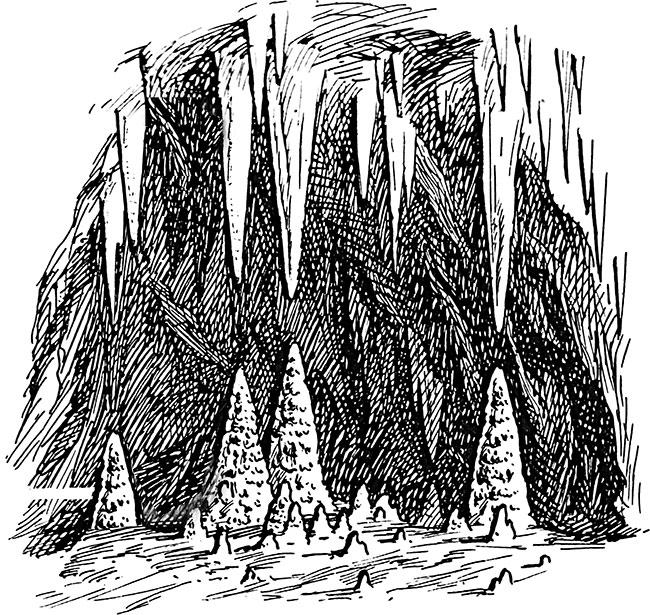 сталактиты