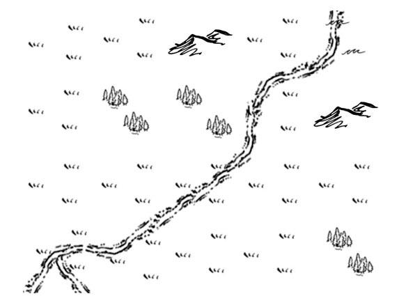 Рисуем карту дикой местности для настольной ролевой игре
