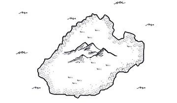 Как нарисовать карту — очень простой способ.